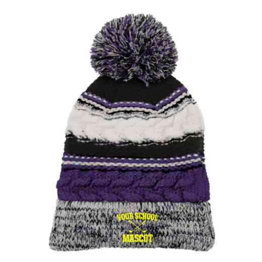 Golf Embroidered  Sport-Tek Pom Pom Knit Beanie