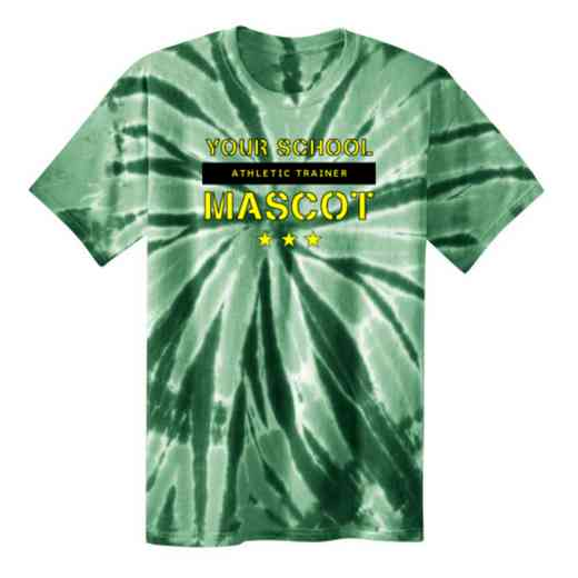 Athletic Trainer Youth Tie Dye T-Shirt