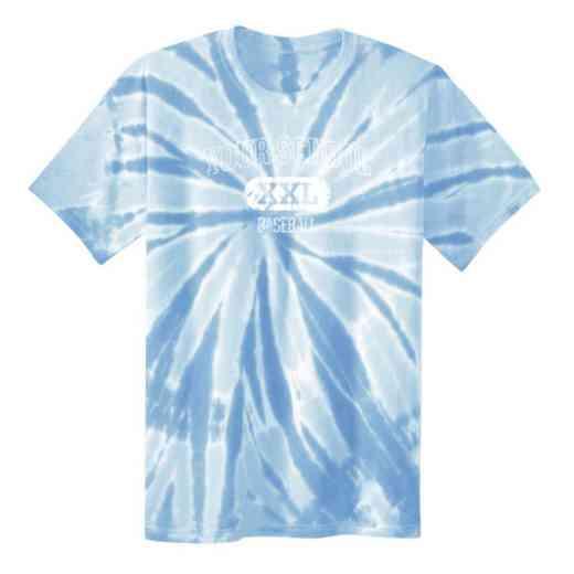 Baseball Youth Tie Dye T-Shirt