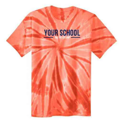 Beta Club Youth Tie Dye T-Shirt
