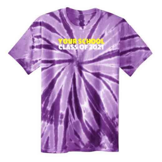 Class of  Youth Tie Dye T-Shirt