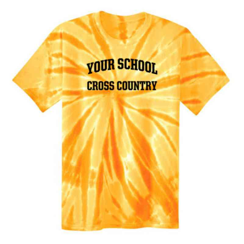 Cross Country Youth Tie Dye T-Shirt