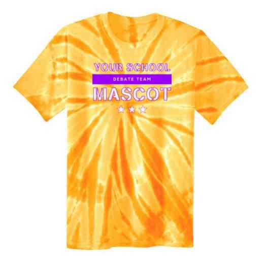 Debate Team Youth Tie Dye T-Shirt