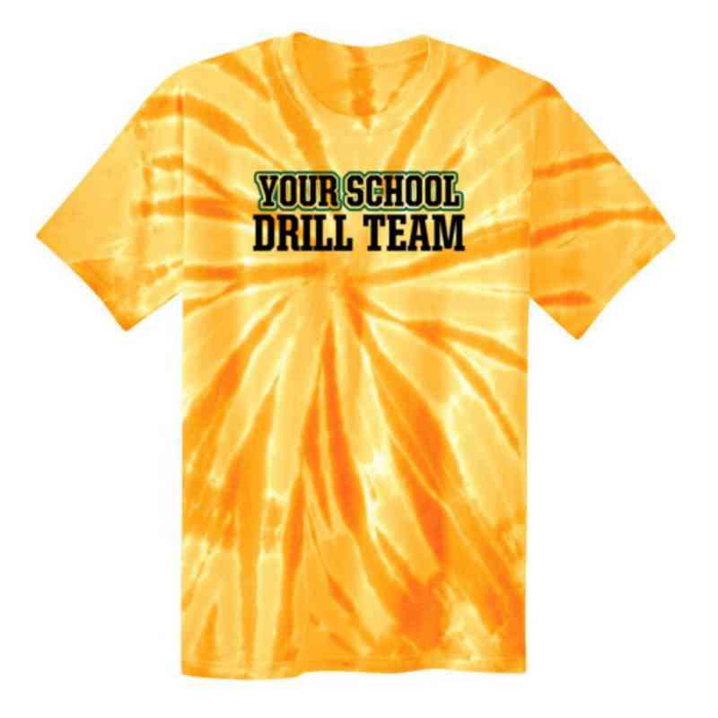 Drill Team Youth Tie Dye T-Shirt