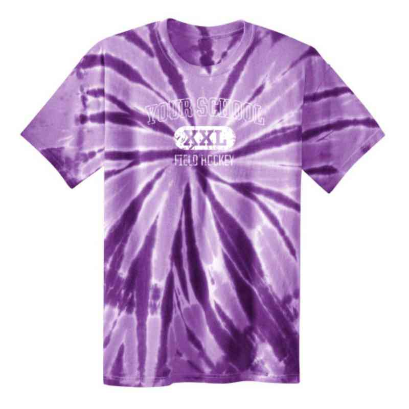Field Hockey Youth Tie Dye T-Shirt