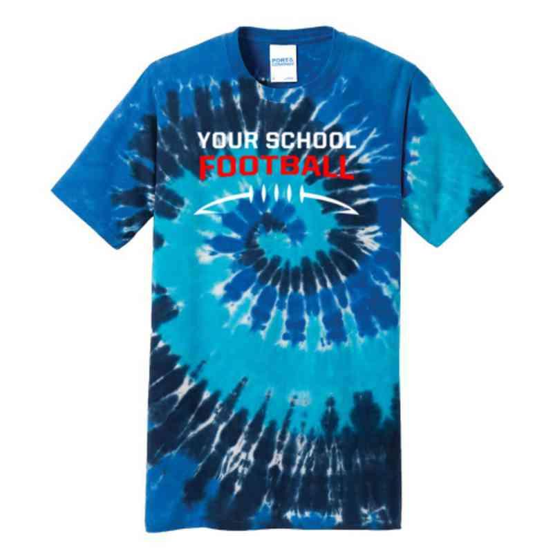 Football Youth Tie Dye T-Shirt