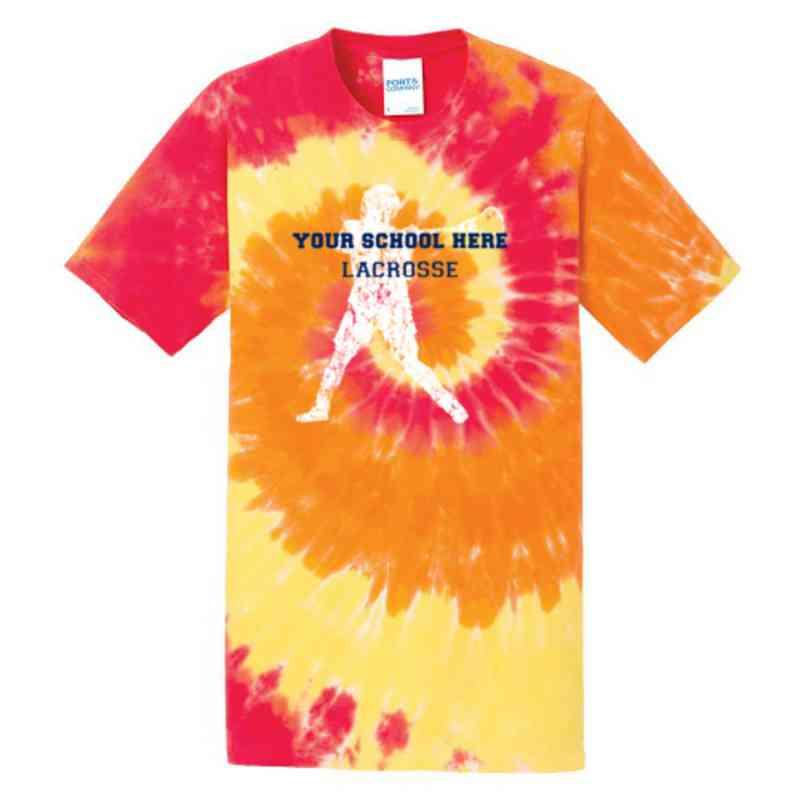 Lacrosse Youth Tie Dye T-Shirt