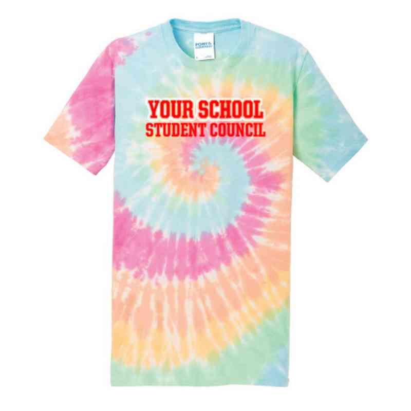 Student Council Youth Tie Dye T-Shirt