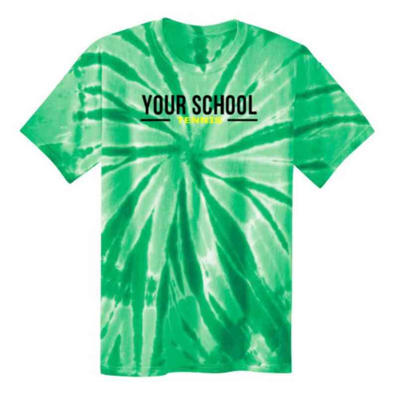 Tennis Youth Tie Dye T-Shirt