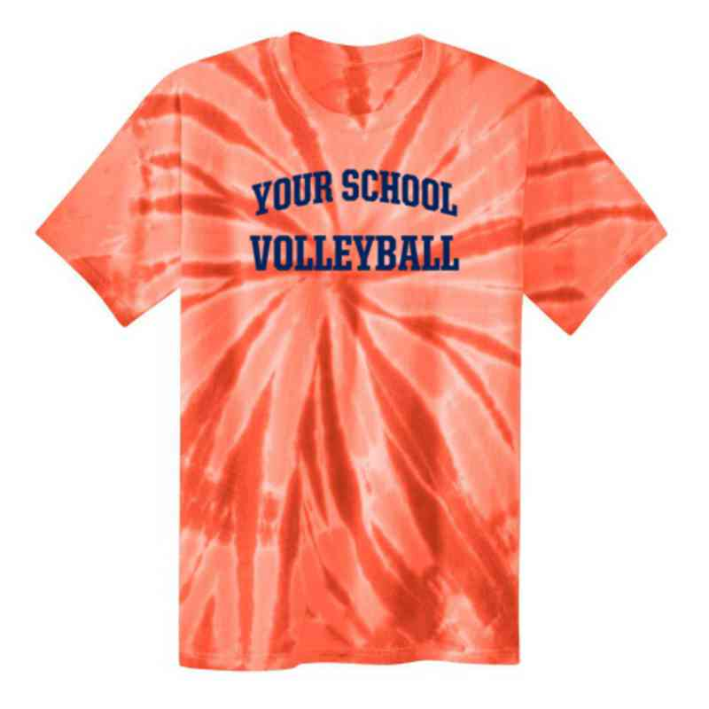 Volleyball  Youth Tie Dye T-Shirt