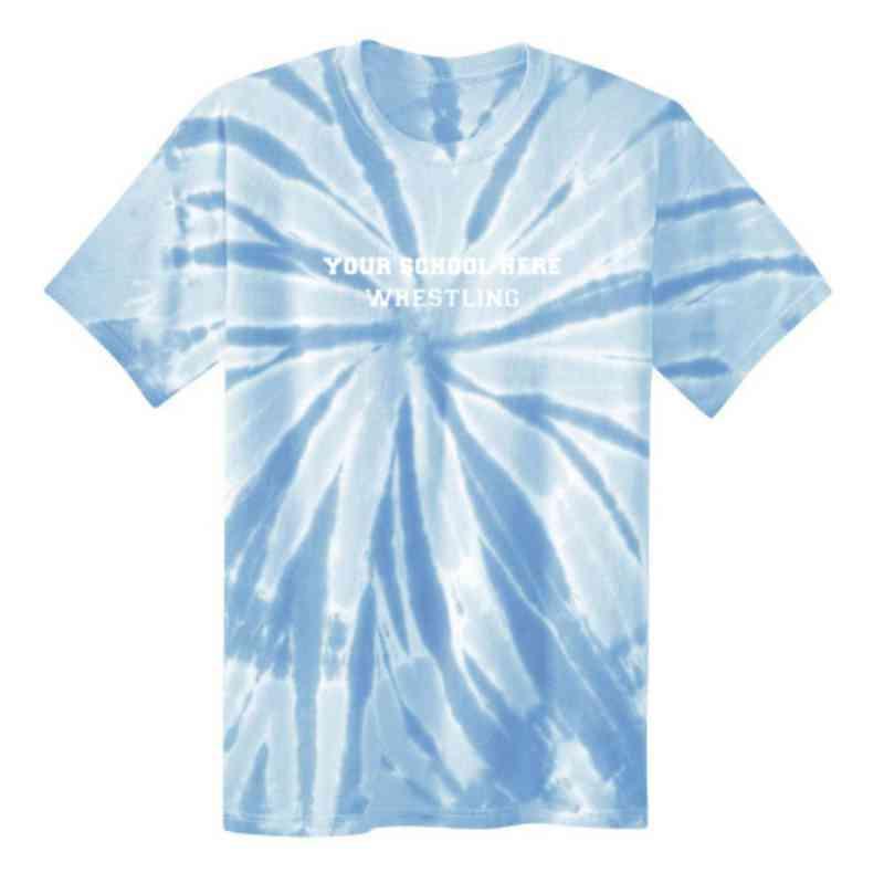 Wrestling Youth Tie Dye T-Shirt