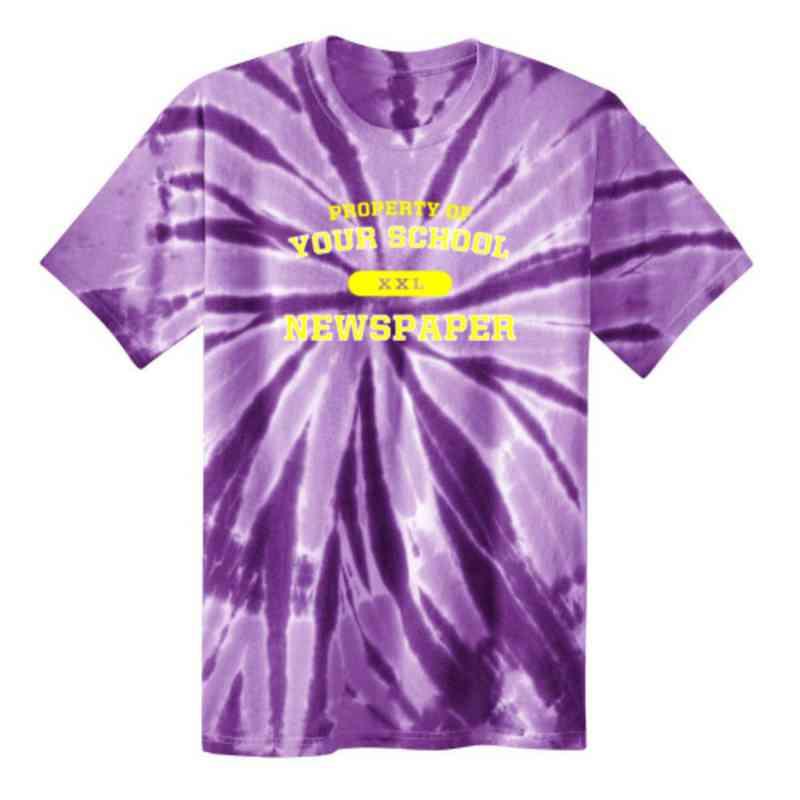 Newspaper Youth Tie Dye T-Shirt