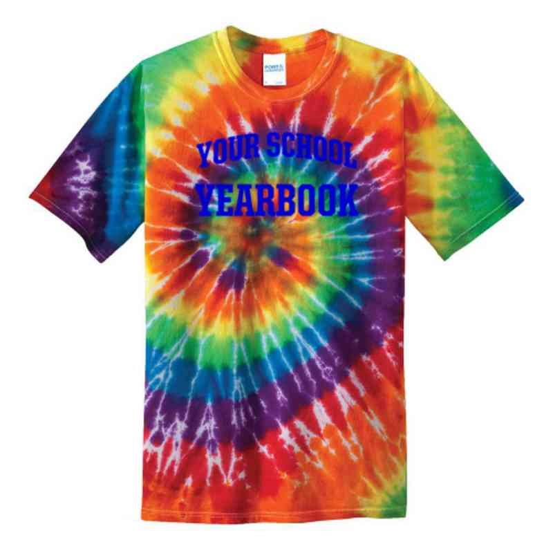 Yearbook Youth Tie Dye T-Shirt