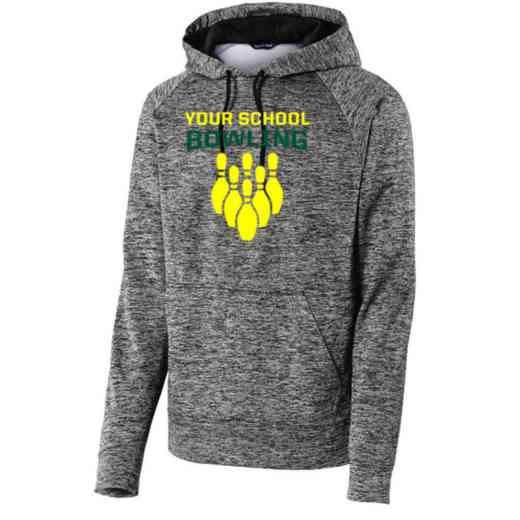 Bowling Sport-Tek Electric Heather Hooded Sweatshirt
