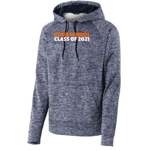 Class of  Sport-Tek Electric Heather Hooded Sweatshirt