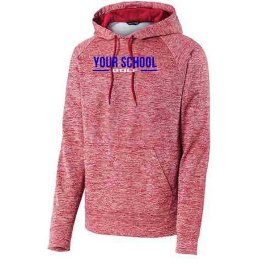 Golf Sport-Tek Electric Heather Hooded Sweatshirt