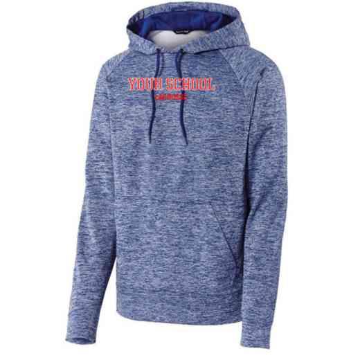 Lacrosse Sport-Tek Electric Heather Hooded Sweatshirt