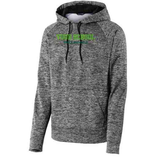 Track and Field Sport-Tek Electric Heather Hooded Sweatshirt