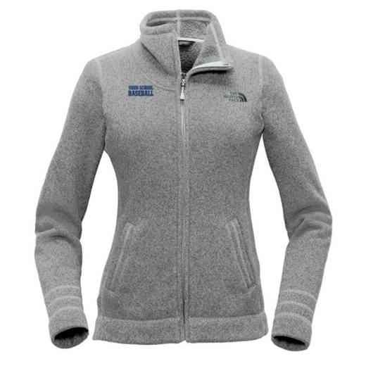Baseball The North Face Ladies Sweater Fleece Jacket