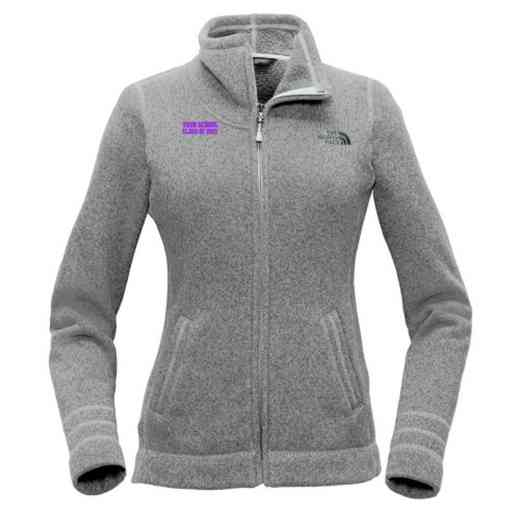 """Class of """""""" The North Face Ladies Sweater Fleece Jacket"""