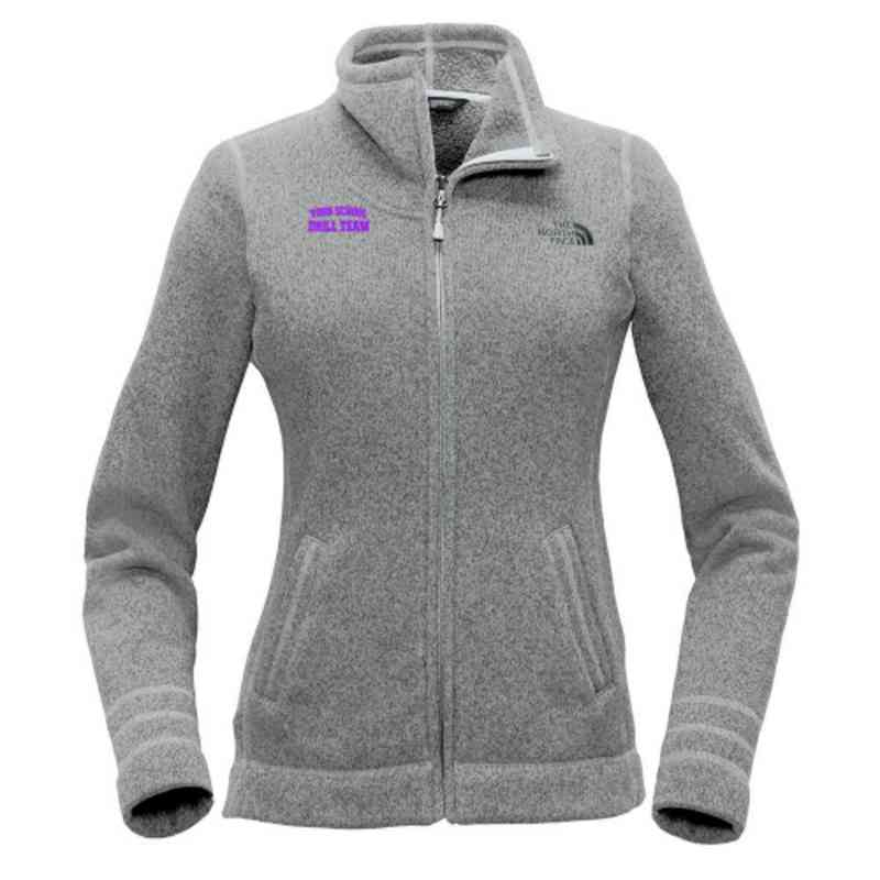 Drill Team The North Face Ladies Sweater Fleece Jacket