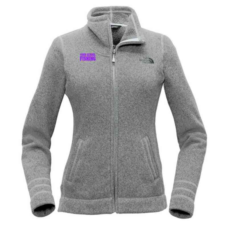 Fishing The North Face Ladies Sweater Fleece Jacket