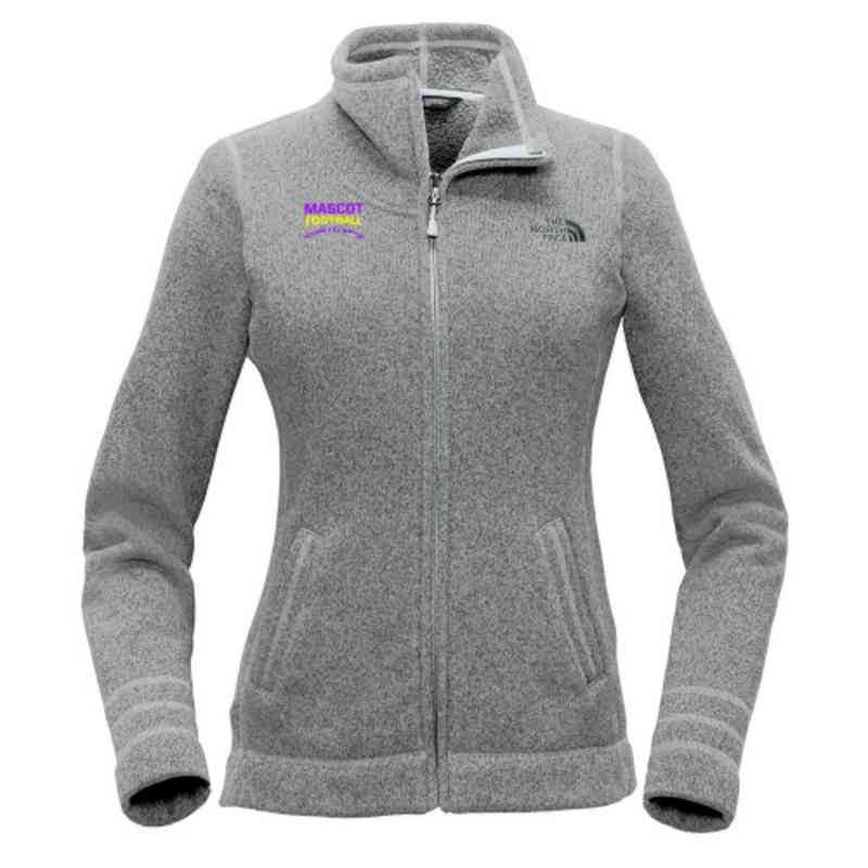 Football The North Face Ladies Sweater Fleece Jacket