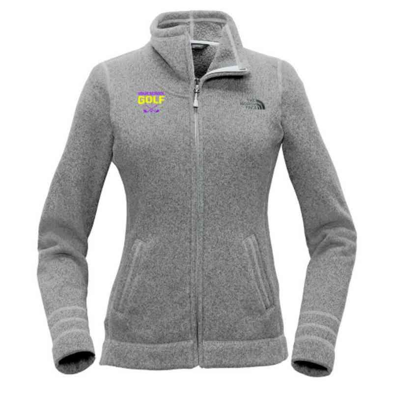Golf The North Face Ladies Sweater Fleece Jacket
