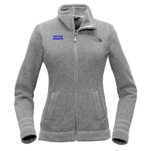 Gymnastics The North Face Ladies Sweater Fleece Jacket
