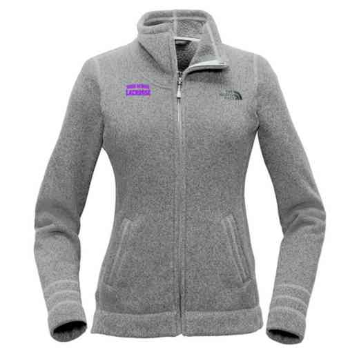 Lacrosse The North Face Ladies Sweater Fleece Jacket