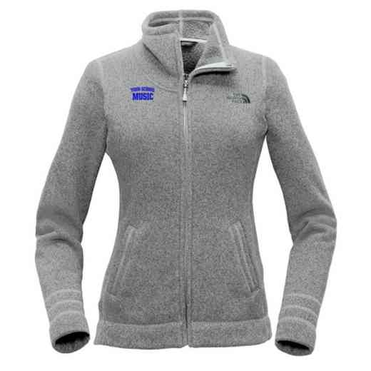 Music The North Face Ladies Sweater Fleece Jacket