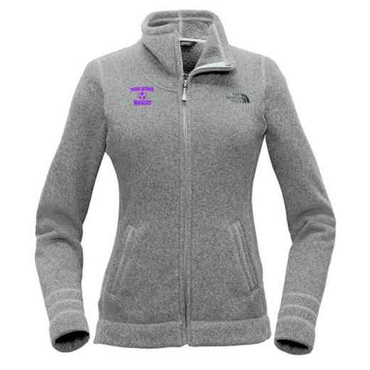 Soccer The North Face Ladies Sweater Fleece Jacket