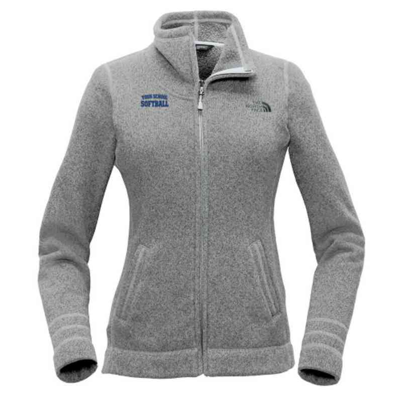 Softball The North Face Ladies Sweater Fleece Jacket