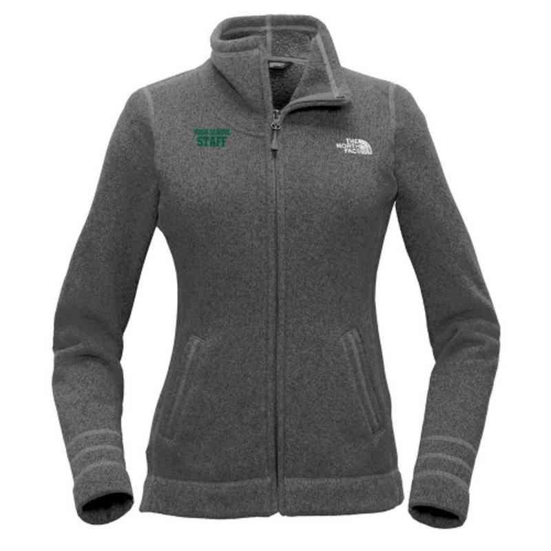 Staff The North Face Ladies Sweater Fleece Jacket