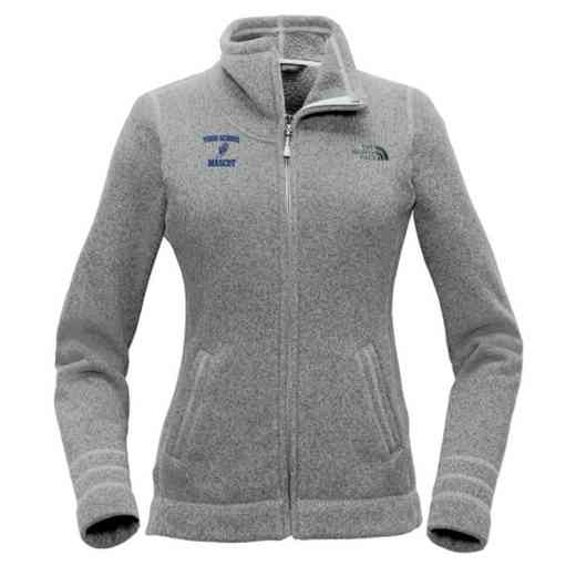 Track and Field The North Face Ladies Sweater Fleece Jacket