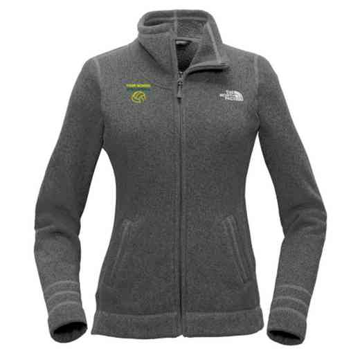 Volleyball  The North Face Ladies Sweater Fleece Jacket