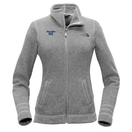 FCA The North Face Ladies Sweater Fleece Jacket
