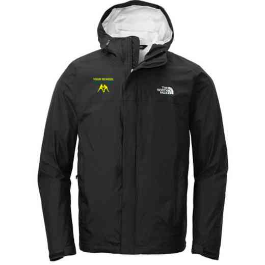 Wrestling The North Face DryVent Waterproof Rain Jacket