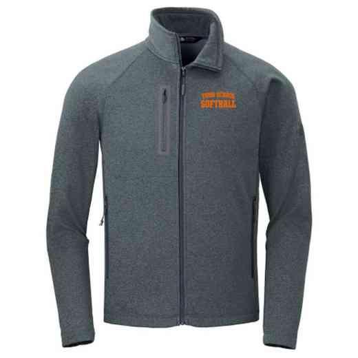 5ca99536e4 Softball The North Face Canyon Flats Fleece Jacket