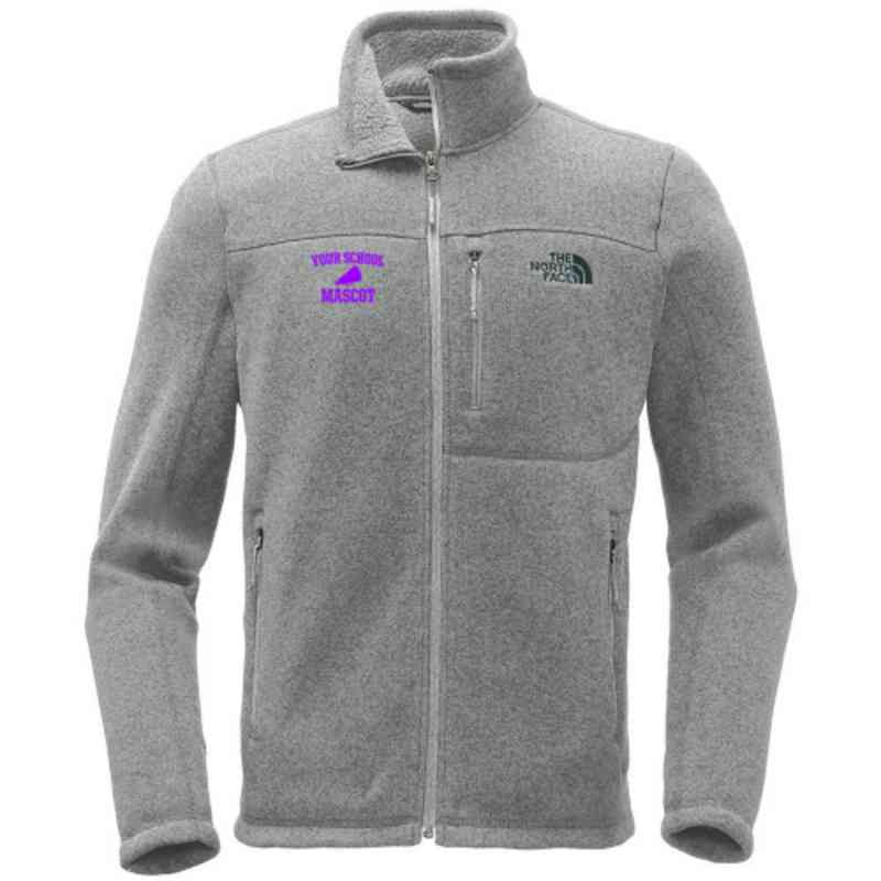 Cheerleading The North Face Sweater Fleece Jacket
