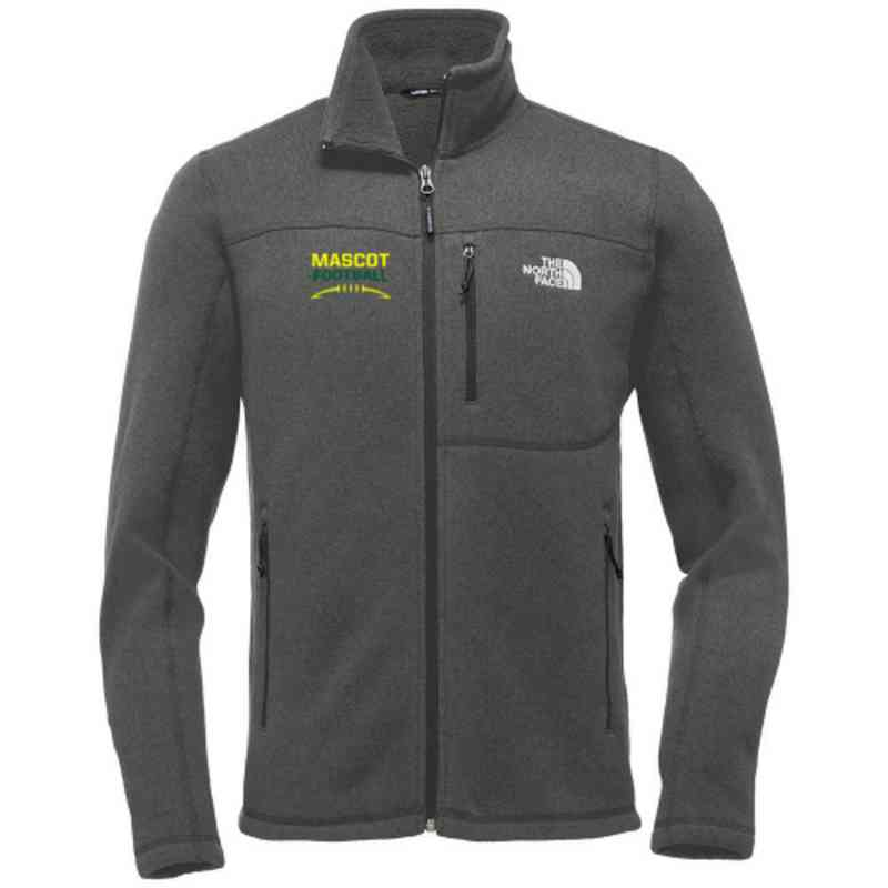 Football The North Face Sweater Fleece Jacket