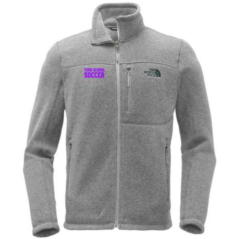 Soccer The North Face Sweater Fleece Jacket