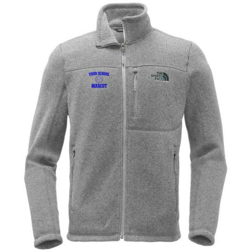 Volleyball  The North Face Sweater Fleece Jacket