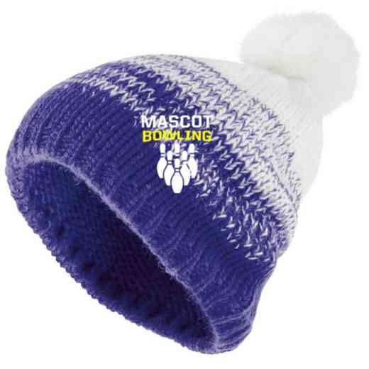 Bowling Embroidered Holloway Ascent Beanie