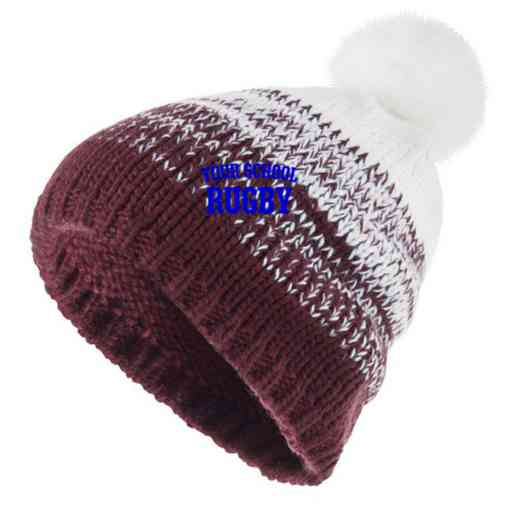 Rugby Embroidered Holloway Ascent Beanie