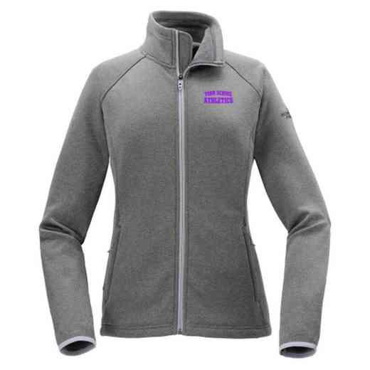 Athletics The North Face Ladies' Canyon Flats Fleece Jacket