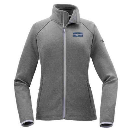 Drill Team The North Face Ladies' Canyon Flats Fleece Jacket