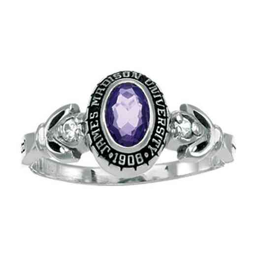 James Madison University Class Of 2020 Women's Twilight with Diamonds and Birthstones