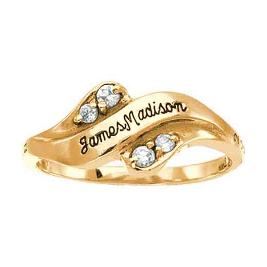 James Madison University Class Of 2020 Women's Seawind with Diamonds and Birthstones