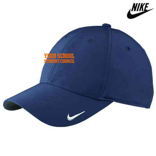 Student Council Embroidered Nike Legacy 91 Cap ebd34e359998